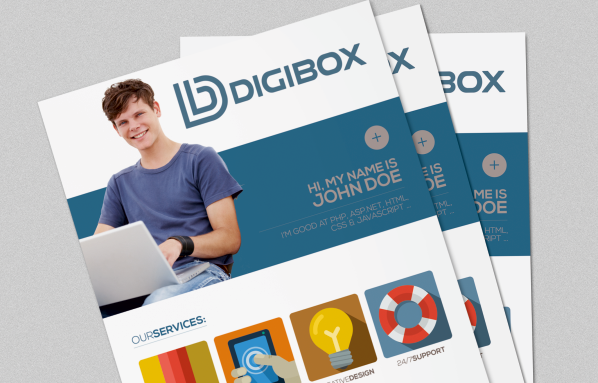 Логотип «Digibox»
