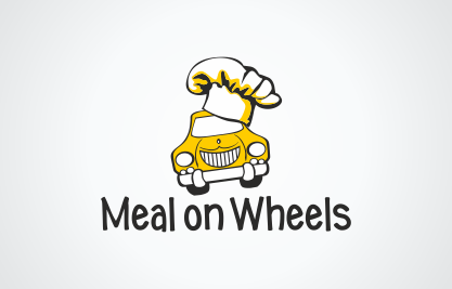 Логотип «Meal on Wheels»
