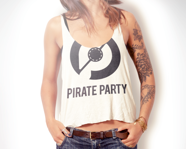 Логотип «Pirate party»