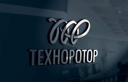 Трафаретное исполнение логотипа